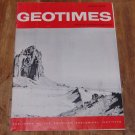 GEOTIMES 1965 March Vol.9, No.7 American Geological Institute Journal Magazine
