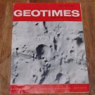 GEOTIMES 1965 May-June Vol.9, No.9 American Geological Institute Journal Magazine