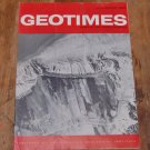GEOTIMES 1965 July-August Vol.10, No.1 American Geological Institute Journal Magazine