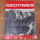 GEOTIMES 1966 February Vol.10, No.6 American Geological Institute Journal Magazine