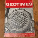 GEOTIMES 1966 May-June Vol.10, No.9 American Geological Institute Journal Magazine