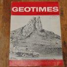 GEOTIMES 1966 December Vol.11, No.5 American Geological Institute Journal Magazine