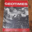 GEOTIMES 1967 February Vol.12, No.2 American Geological Institute Journal Magazine