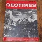 GEOTIMES 1967 February Vol.12, No.2 American Geological Institute Journal Magazine