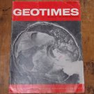 GEOTIMES 1967 April Vol.12, No.4 American Geological Institute Journal Magazine