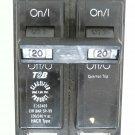 Thomas & Betts Circuit Breaker 20Amp 120/240V HACR TypeTB220C