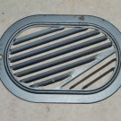 Inside Vent cover RH [Right Hand] used 1960 Chevrolet Corvair, model 700, 4 dr