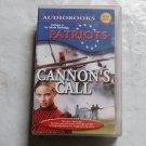 Patriots CANNON'S CALL audiobook cassette Vol5 Adam Rutledge Revolutionary War