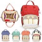 Large Diaper Bag Multi-functional Practical PU Baby Changing Diaper Bag Backpack