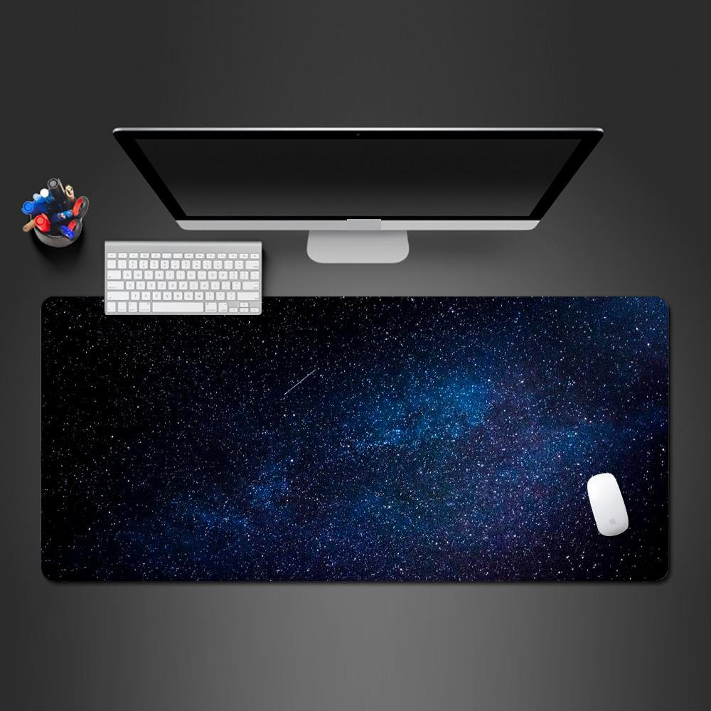 Cool Starry Sky 900X400X2MM Mouse Pad