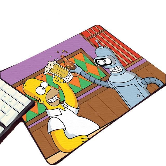 Futurama Bender 220X180X2MM Mouse Pad