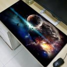 Moon Space Blue 400X900X5MM Mouse Pad