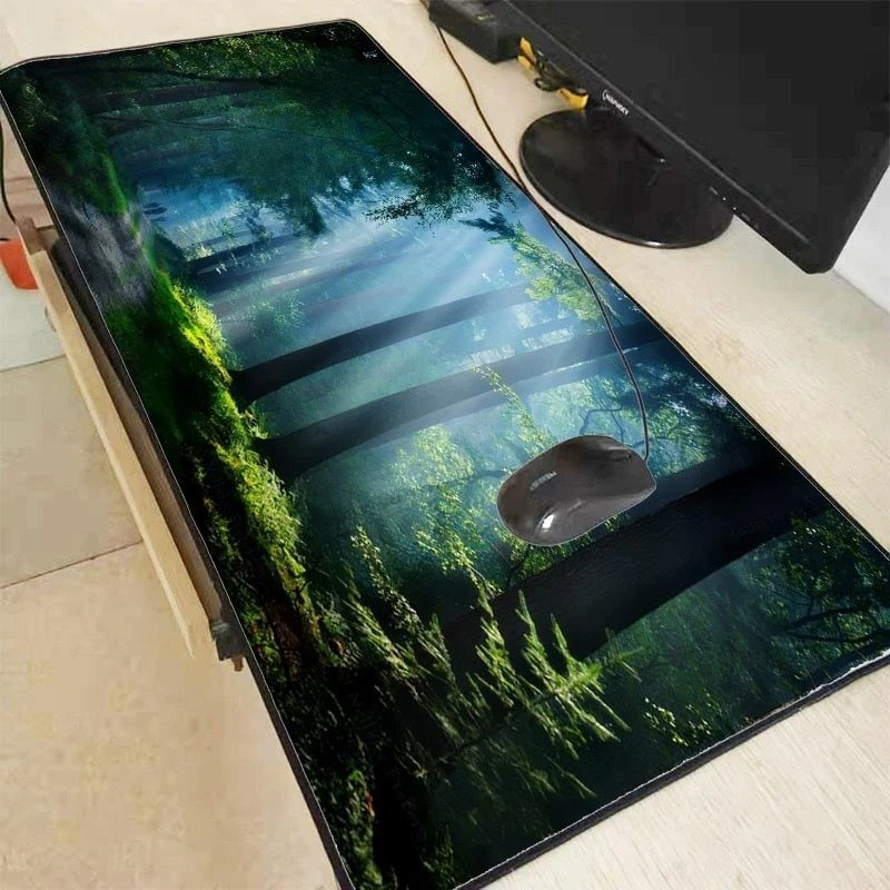 Nature Blue Forest 350X600X2MM Mouse Pad