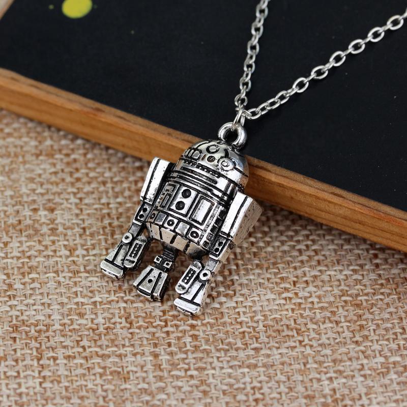 Star Wars Robot R2D2 Pendant Necklace