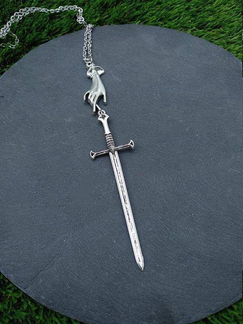 Tarot Sword Necklace