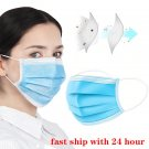 100 Pcs Disposable Three-layer Filter Mouth Nose Face Mask