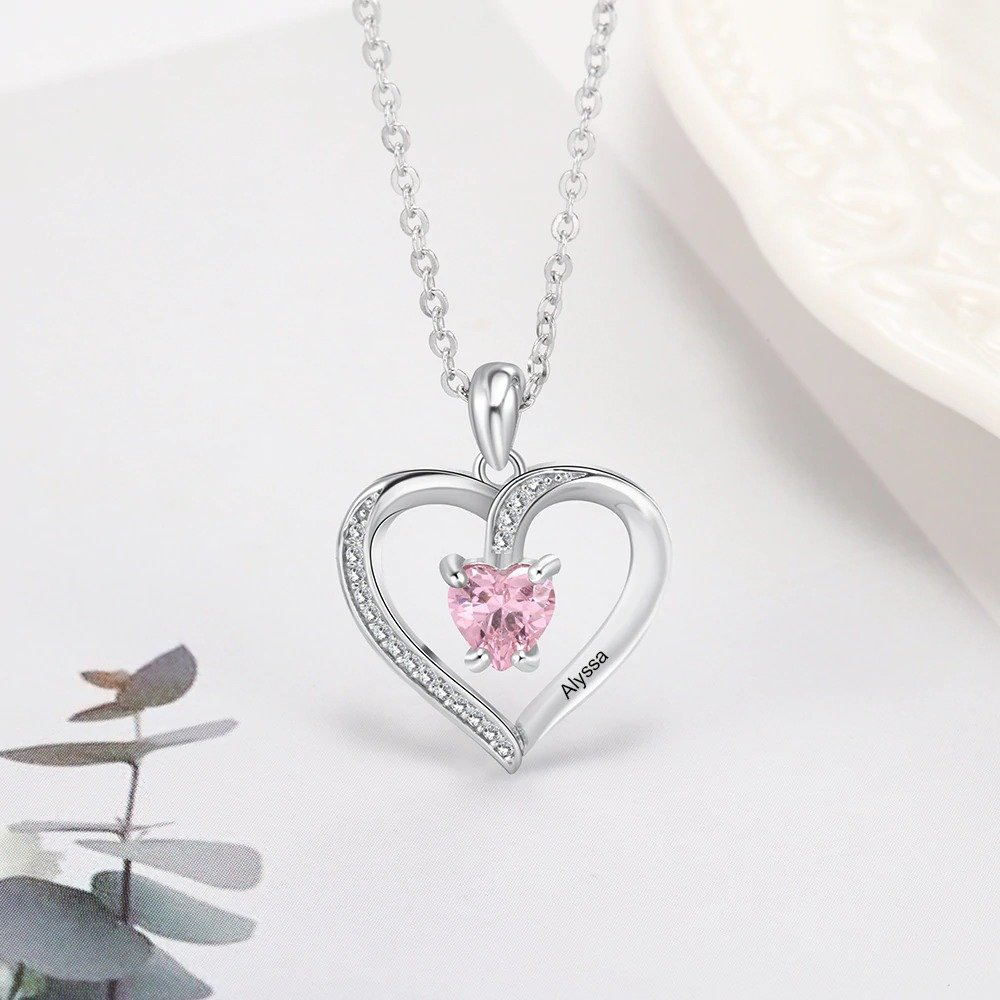 Sterling Sliver Jewelry Heart Pendant