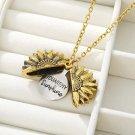 Sunshine Sunflower Necklaces