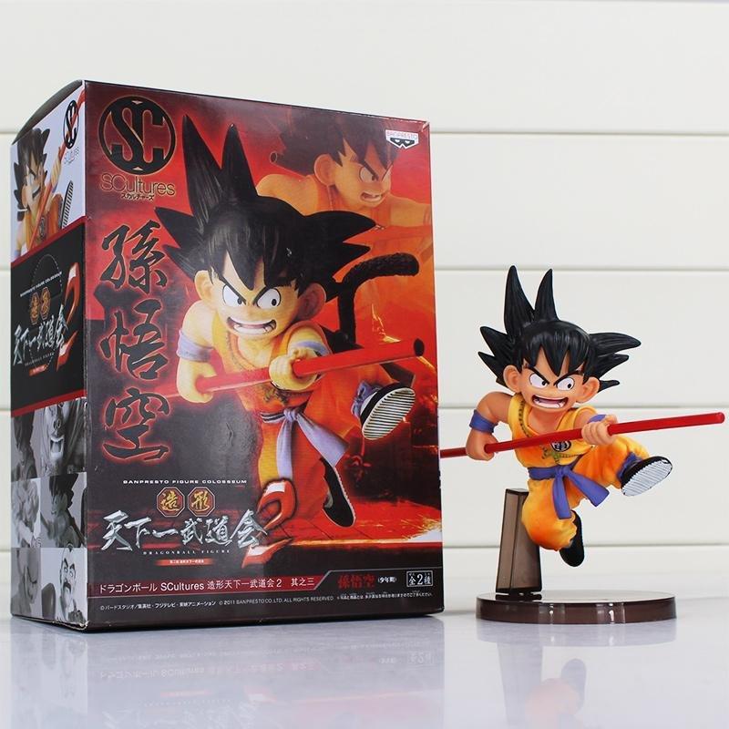 Dragon Ball Z Son Goku Childhood Action Figure With Box