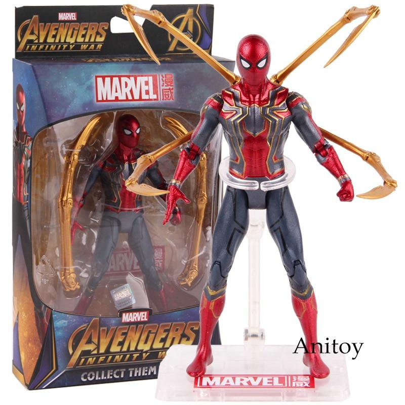 Iron Spiderman Action Figure