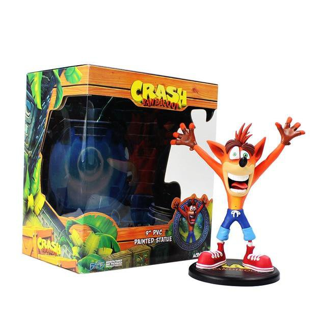 Crash Bandicoot Action Figure With Box