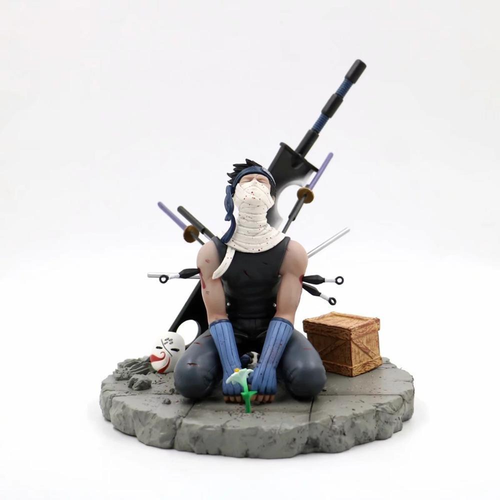Anime Naruto Momochi Zabuza Action Figure With Box