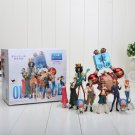 Anime One Piece Action Figures 10Pcs In Box