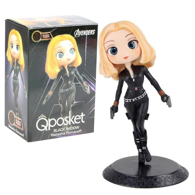 Black Widow Action Figure With Box