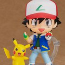 Anime Pikachu Ash Ketchum Action Figure With Box