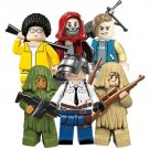 PUBG Playerunknown's Ghillie Suit Military Army Action Figures