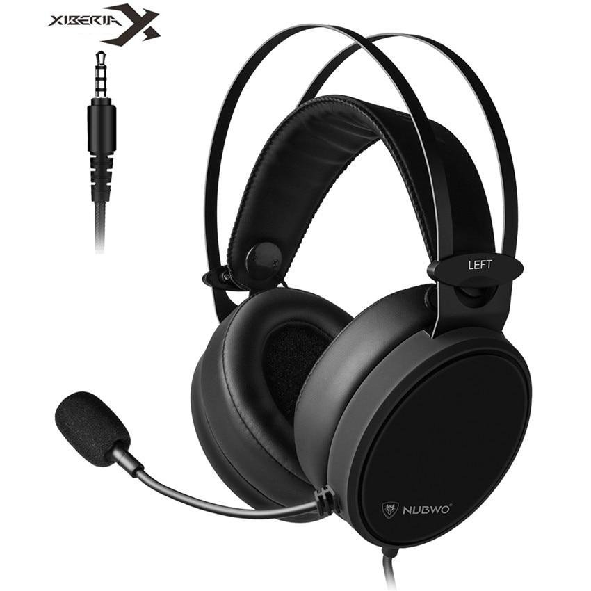 Xiberia Nubwo N7 Headset Casque Bass Stereo With Mic