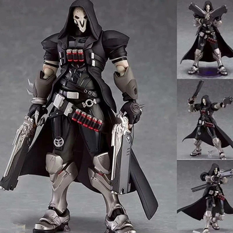 Overwatch Game Reaper Action Figure