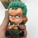 One Piece Roronoa Zoro Childhood Sitting Action Figure