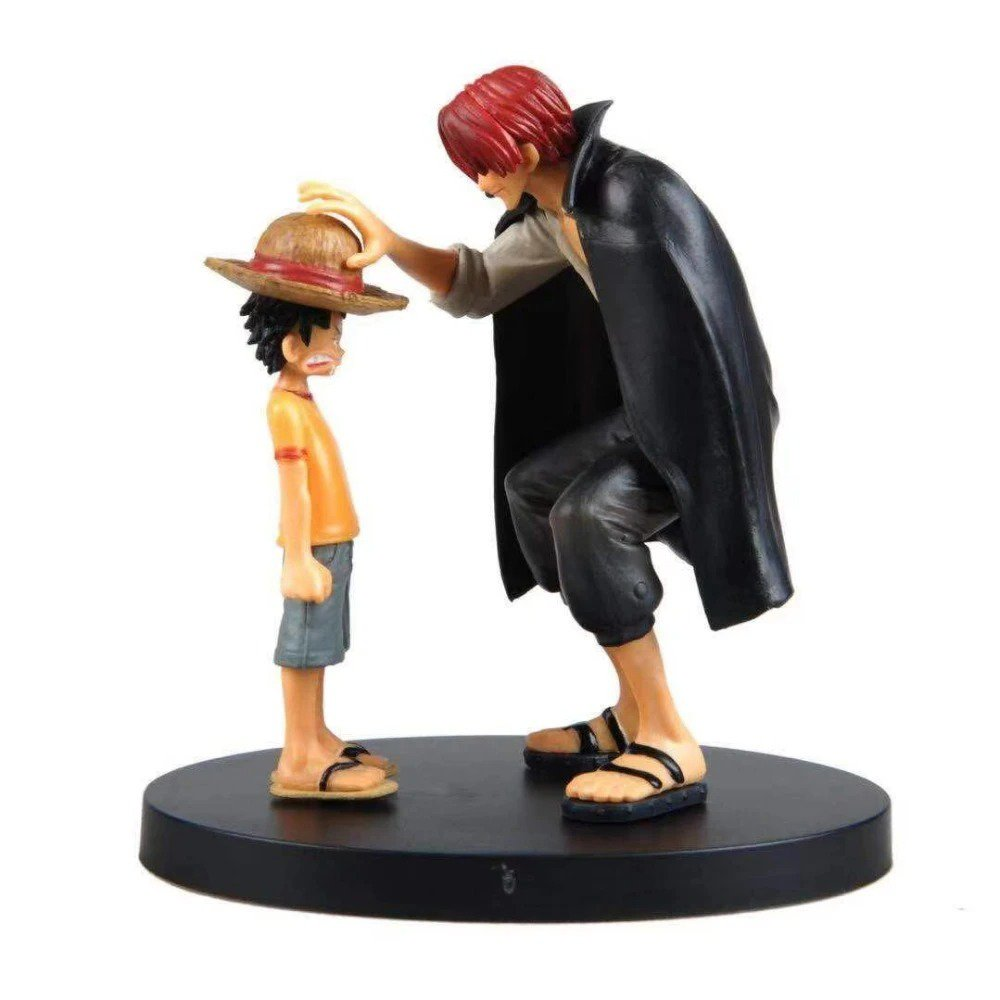 One Piece Straw Hat Luffy Shanks Action Figure