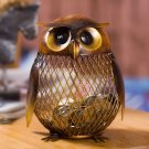 Bank Owl Figurine Money Box