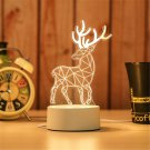 Beautiful 3D USB Acrylic LED Night Lamp