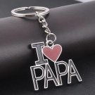 Love PAPA Father's Day Gifts Keychain