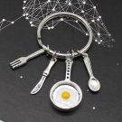 Omelette Keychain