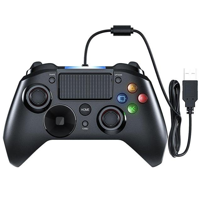MPow Wired LED Controller For PS4/PS3/Win/Android TV