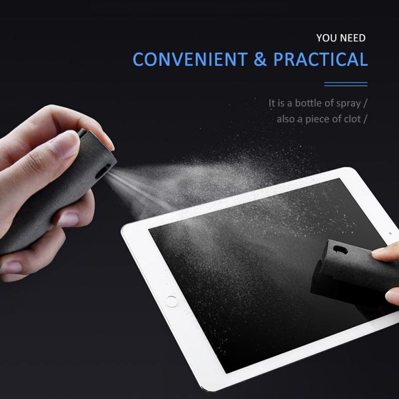 2 In 1 Portable Phone PC Screen Cleaner Spray