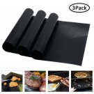 3 Pieces Reusable Non-Stick BBQ Grill Mat
