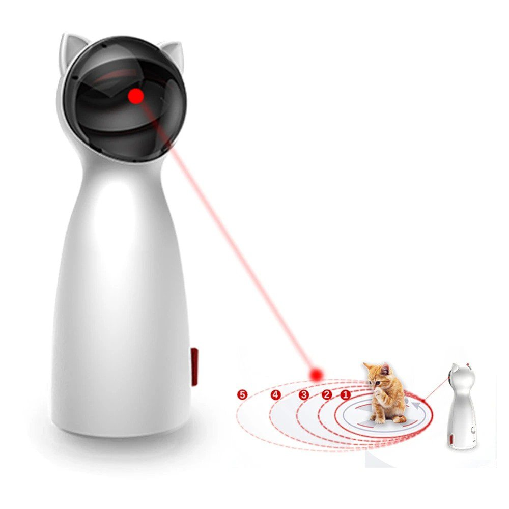 Automatic Cat Laser Toy For All Cats