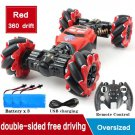 RC 4WD Radio Control Stunt Car Toy RED