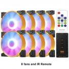 Aigo RGB 120mm LED PC Case Fans