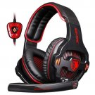 SADES SA-903 7.1 Wired Gaming Headset RED