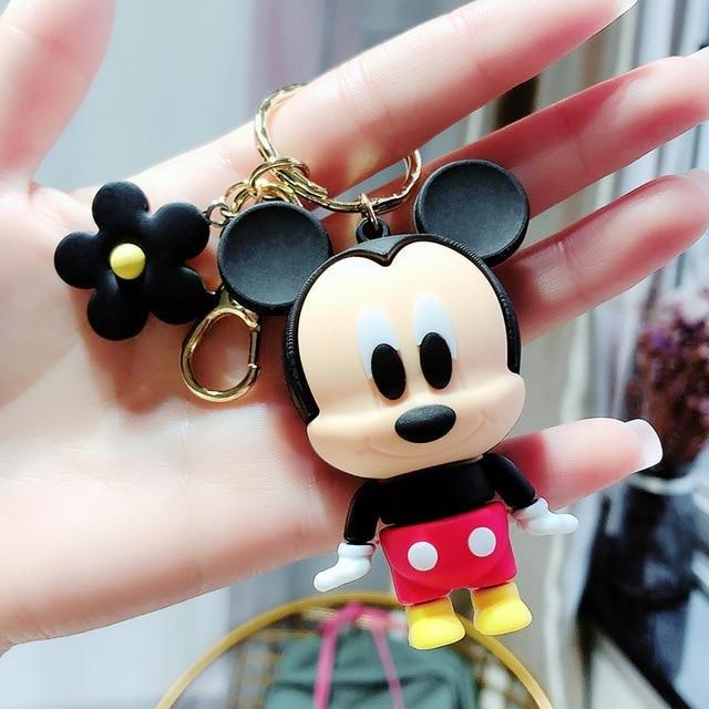 Disney Cute Cartoons Keychain MICKEY MOUSE