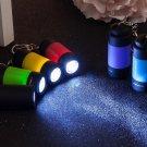 LED Flashlight Pocket Keychain RED COLOR