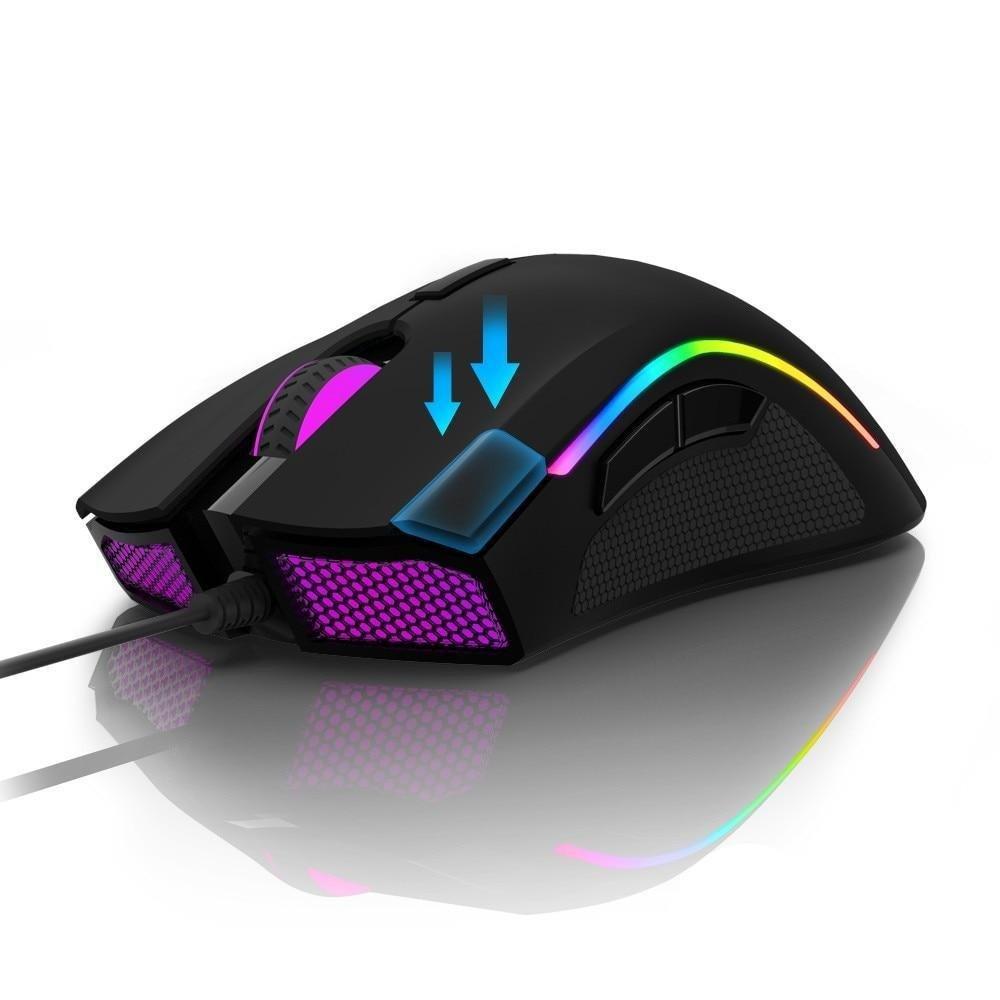 Delux M625 PMW3360 Sensor Gaming Mouse