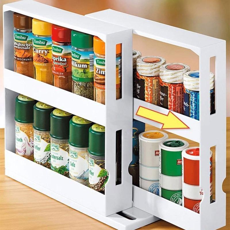Kitchen Spice Organizer Storage Cabinet