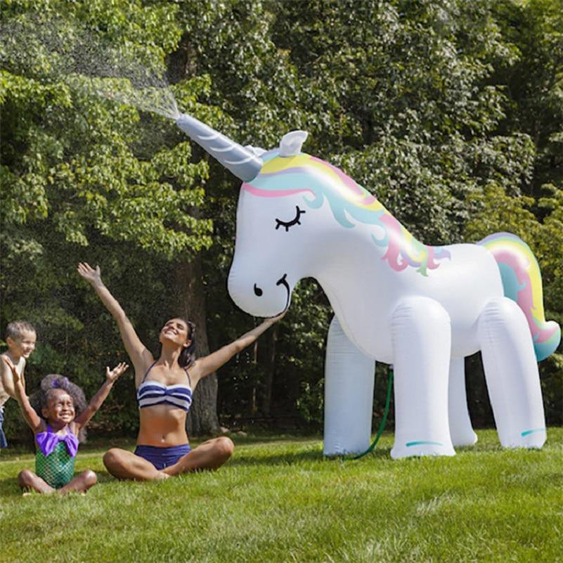 Giant Inflatable Unicorn For Beach Parties 160CM